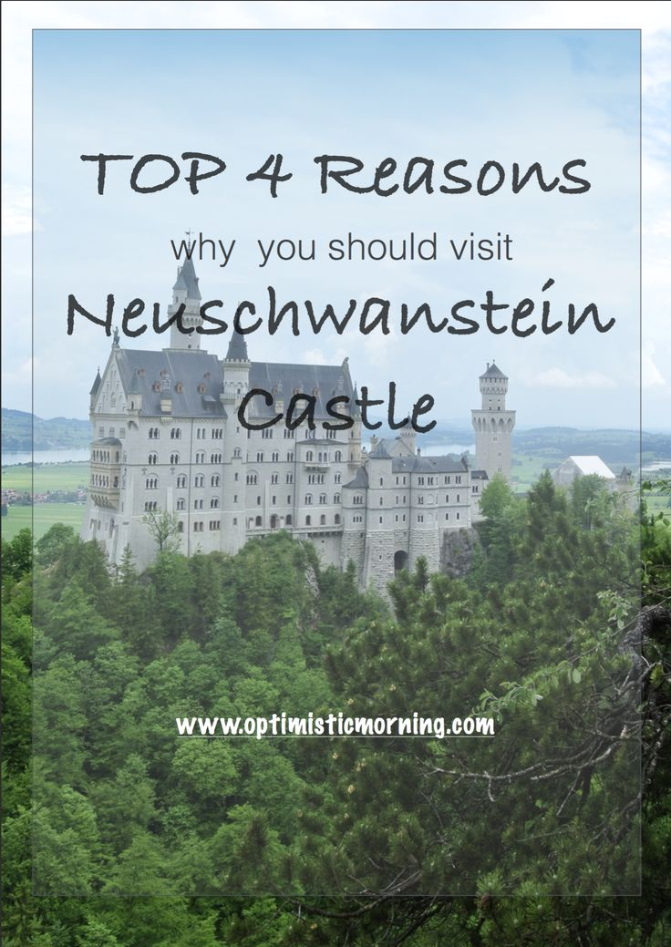 Here is the top 4 reasons to visit Neuschwanstein Castle.What are you still waiting for to book your tickets...