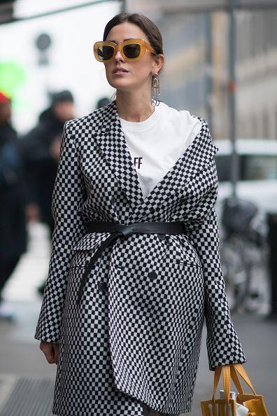Sylvia Haghjoo seen during Milan Fashion Week Fall/Winter 2017/18 on February 23 2017 in Milan Italy #StreetStyle