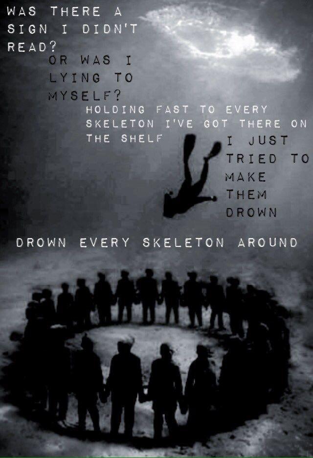 Skeletons // The Amity Affliction #lyrics #meaning