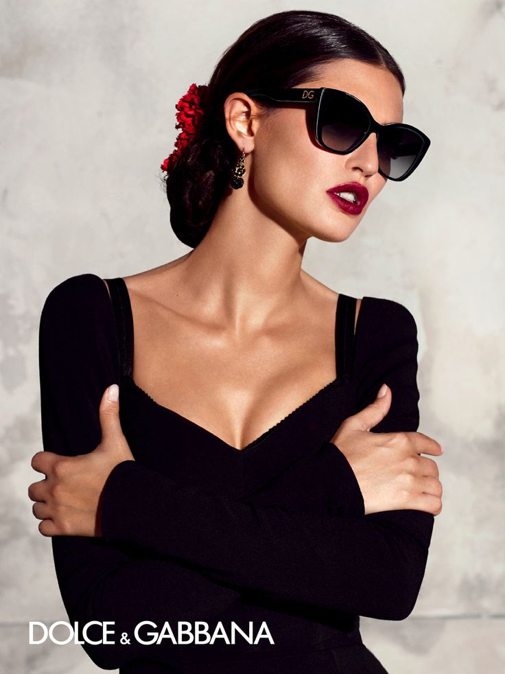 Dolce & Gabbana Women Summer 2015: Advertising Campaign -- those frames!