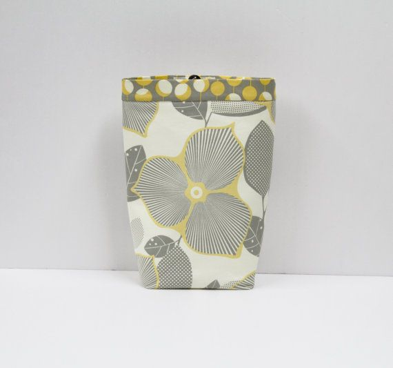 CAR TRASH BAG Amy Butler Midwest Modern Optic by GreenGoose, $26.00