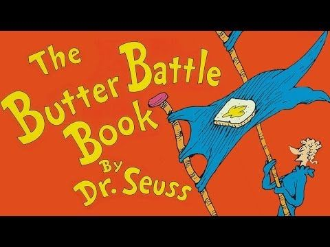 The Butter Battle Book by Dr Seuss - Animated childrens book - bed time story book - YouTube