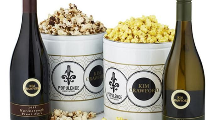 A look at an interesting combination between a #winemaker and a gourmet #popcorn company - Find out more: http://finedininglovers.com/blog/news-trends/wine-popcorn/