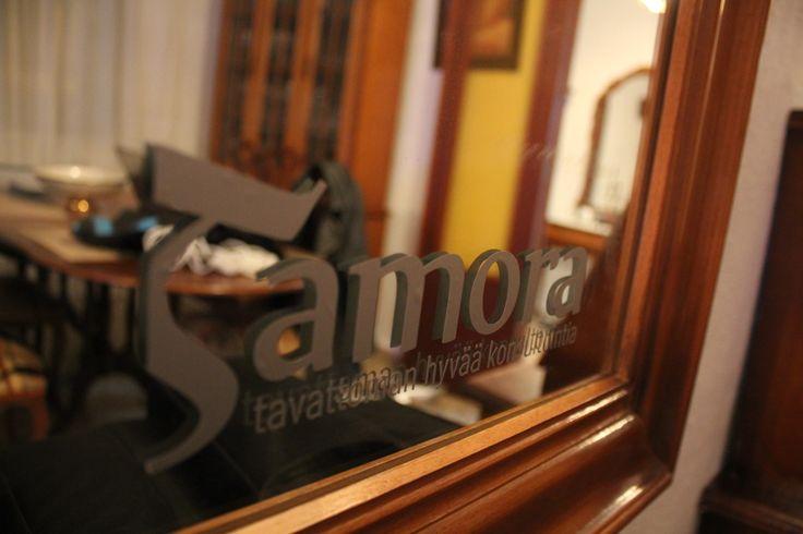 Tamora Välimeren toimisto 2014 Malaga. Aamun odotusta.