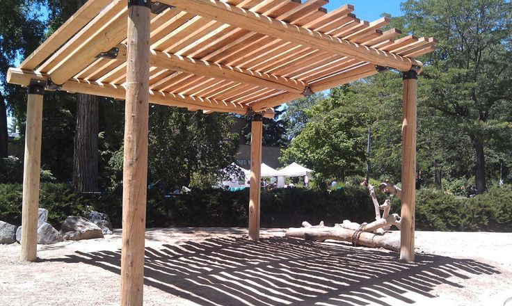 12 best sun shades images on pinterest shade structure for Sun shade structure