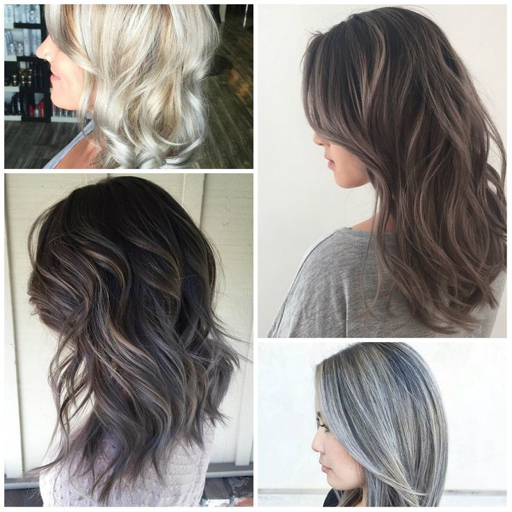 17 best ideas about white hair highlights on pinterest