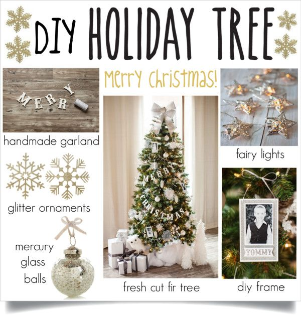 """""""DIY Holiday Tree"""" by lgb321 on Polyvore"""