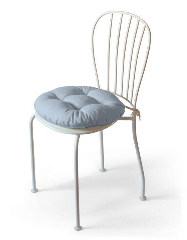 Siedzisko Adam na krzesło w kolekcji Loneta, tkanina: 133-35