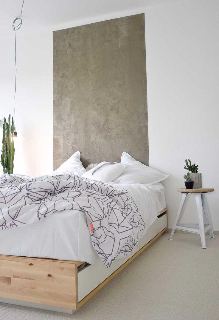 DIY pohledový beton - návod na postup na blogu o bydlení
