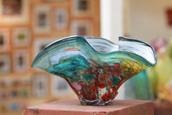 Art Work - blown glass found at the Sawdust Art Festival