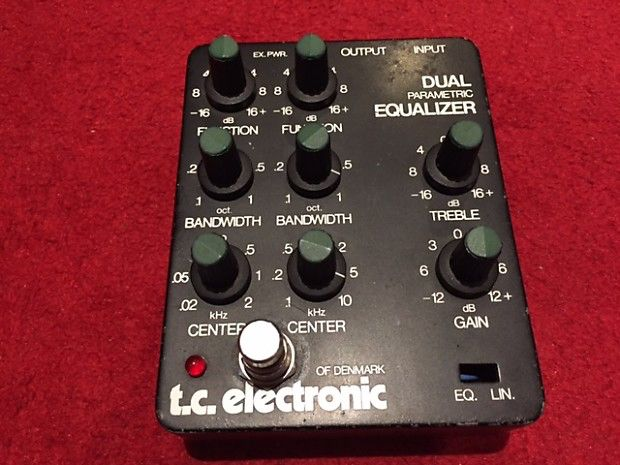 TC Electronic DUAL PARAMETRIC EQ | Guitar After the Output