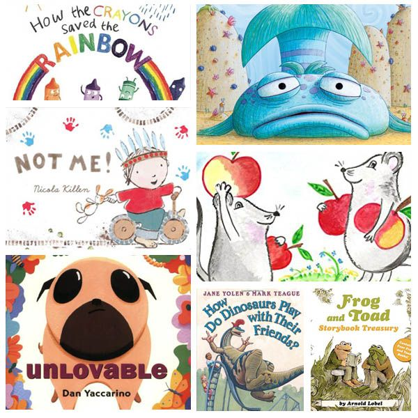 25 Loveable Friendship Books For Kids: Our Favorite Friendship Books for the classroom or home collection.