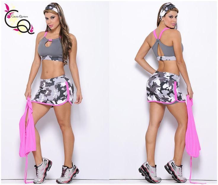 Conjunto superior y falda