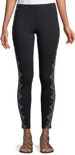 20427d55603bc2 Johnny Was Sonoma Embroidered Leggings, Plus Size | Products | Fall ...
