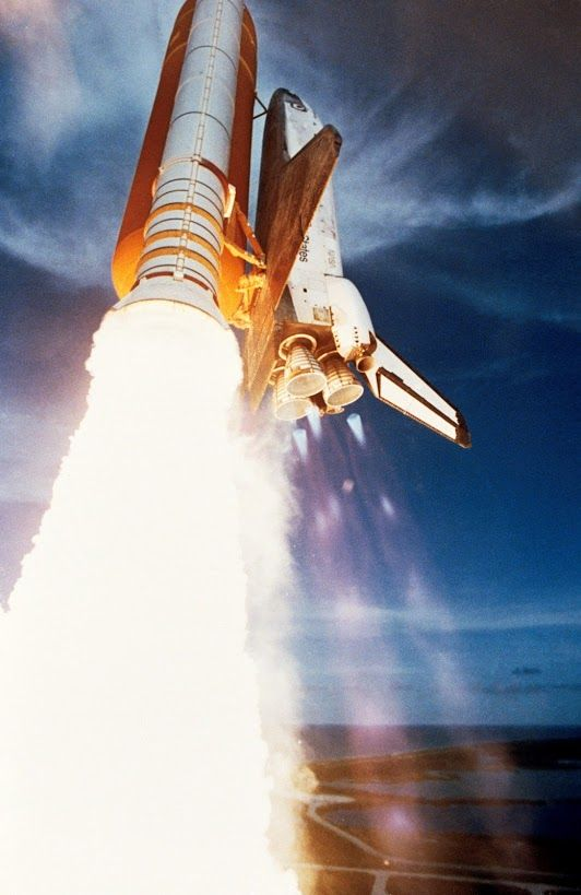 space shuttle engines firing - photo #21