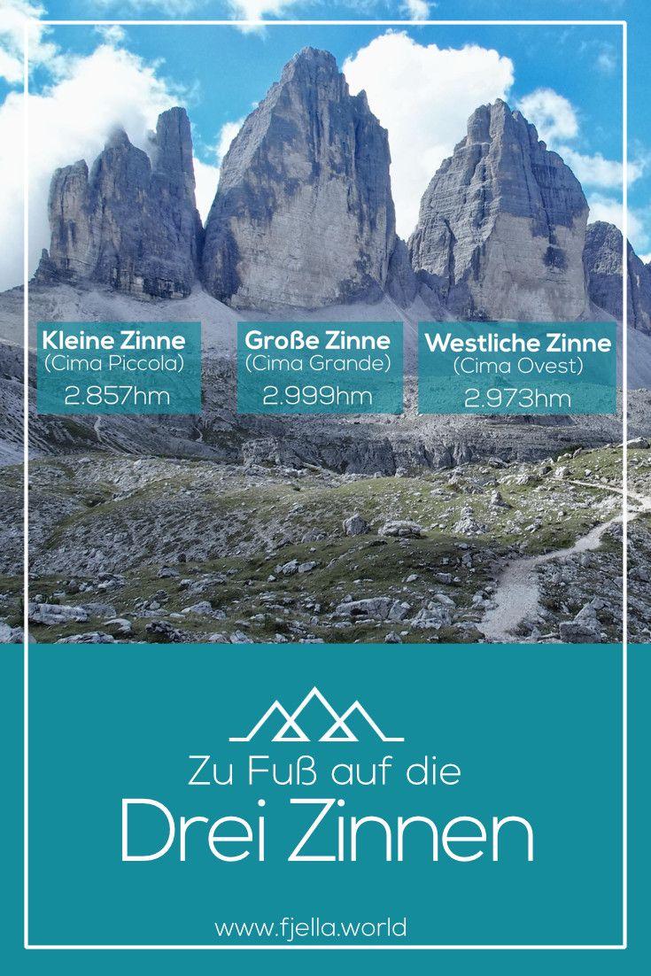Wer kennt sie nicht, die Drei Zinnen in Südtirol, oder auf Italienisch die Tre Cime di Lavaredo! Vom Fischleintal zur Drei Zinnen Hütte, Umrundung der Drei Zinnen und über die Zsigmondyhütte zurück ins Fischleintal.