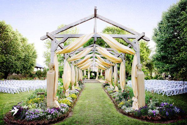Elmwood gardens wedding ceremony reception venue texas for Places for outdoor weddings