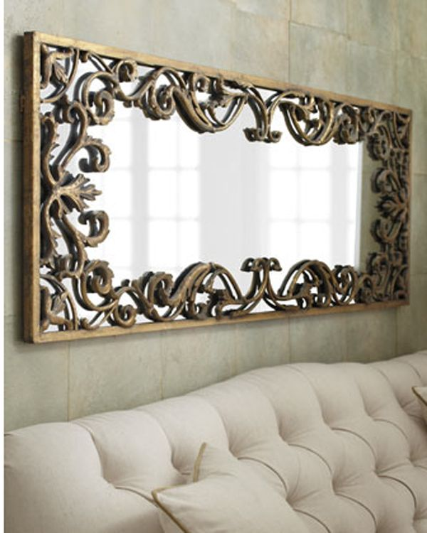 Mirrors Living Room Wall