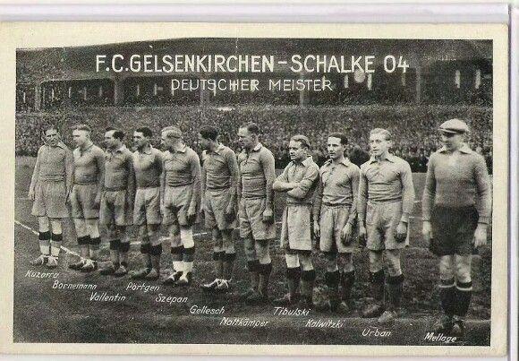 F.C. Gelsenkirchen Vs Schalke 04, Deutscher Meister, 1938/39