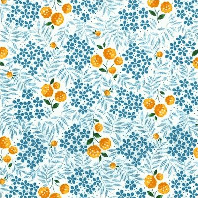 Gallery For > Orange And Blue Pattern