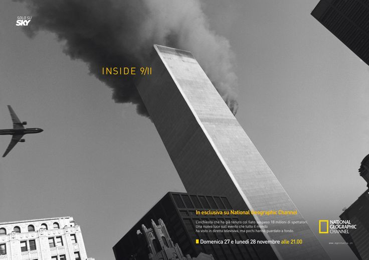 Inside 9/11  - annuncio per National Geographic Channel