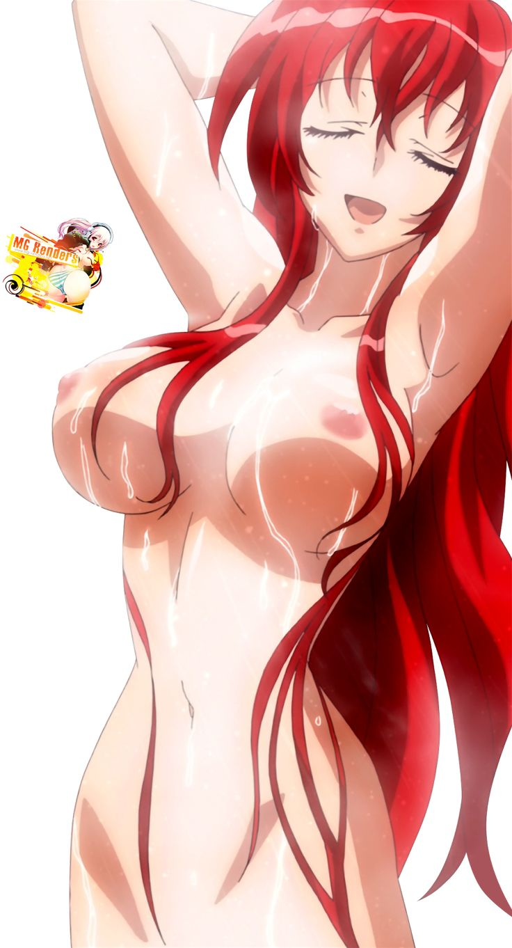 High School DxD - Rias Gremory Render 38 Ecchi Naked Hentai Nipples Large Breasts