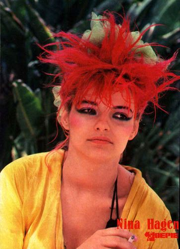 We'd go crazy when Nina Hagen came on at Club Broadway