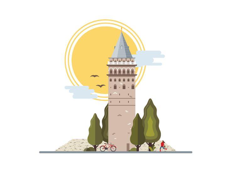 Landmarks of Istanbul - Galata Tower