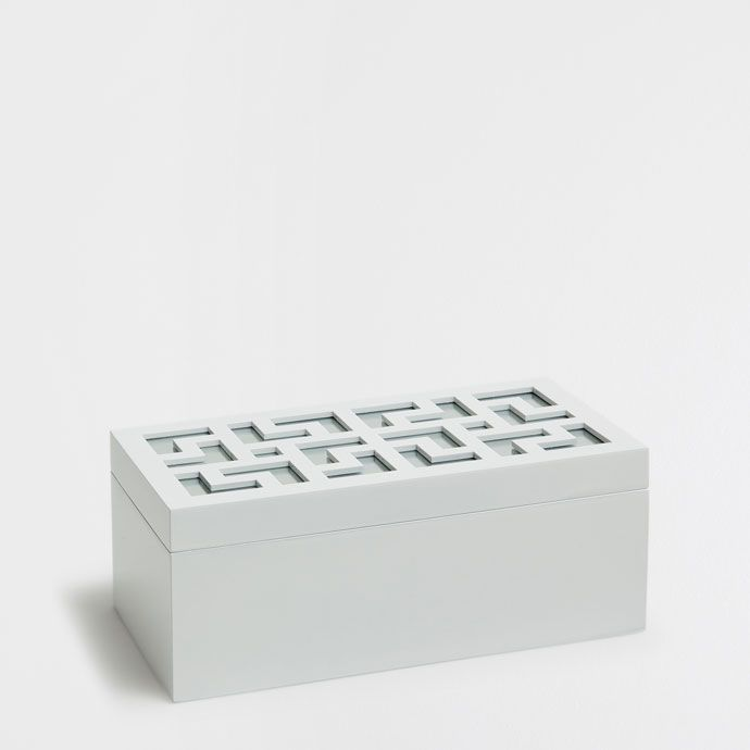 LACQUERED WOODEN AND MIRRORED JEWELLERY BOX - Boxes - Decoration | Zara Home Sverige / Sweden
