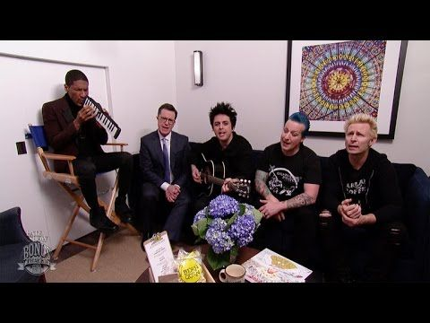 The Late Show Presents: Bonus Tracks, Green Day Edition - YouTube