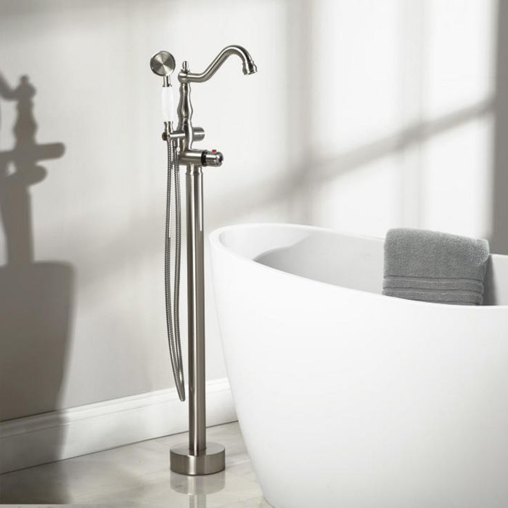 keswick tub faucet and hand shower