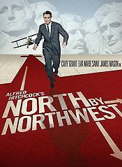 "15 ~ North by Northwest ~ ""While having lunch at the Plaza Hotel in New York, advertising executive Roger O. Thornhill (Cary Grant) has the bad luck to call for a messenger just as a page goes out for a ""George Kaplan."" From that moment, Thornhill finds that he has stepped into a nightmare -- he is quietly abducted by a pair of armed men out of the hotel's famous Oak Room and transported to a Long Island estate; there, he is interrogated by a mysterious man (James Mason) who, believing…"