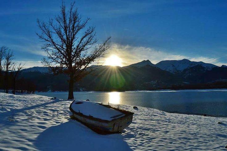 Plastira's lake