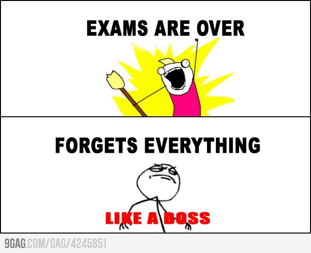 Funny Exam Pictures Facebook EXAMS ARE OVER!!!! | f...