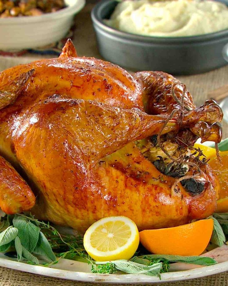 Thanksgiving Turkey: Citrus and Herb Turkey