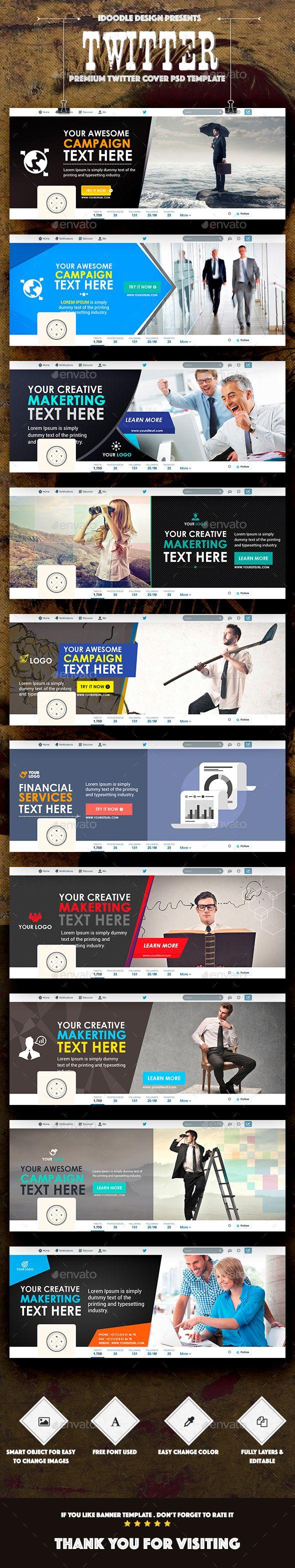 10 best Twitter Header Designs images on Pinterest | Header design ...