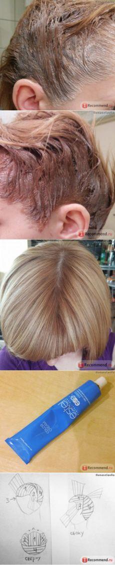 Краска для волос Estel Professional ESSEX - «Отзыв о том, как покрасить волосы самостоятельно дома на примере Estel Essex. Как выбрать процент окислителя, как правильно красить волосы, схемы нанесения краски, пошаговые инструкции и очень много ФОТО!!!» | Отзывы покупателей