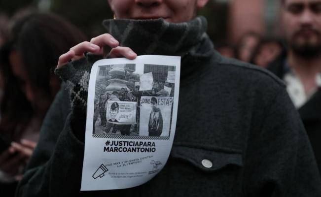 El estudiante fue detenido el martes 23 de enero cuando tomaba fotos de un mural en las inmediaciones del Metrobús El Rosario, cuando unos policías lo arrestaron. Durante cinco días, estuvo desaparecido