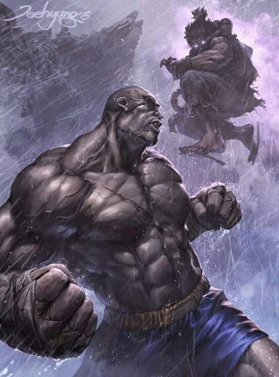 Street Fighter Sagat vs Akuma