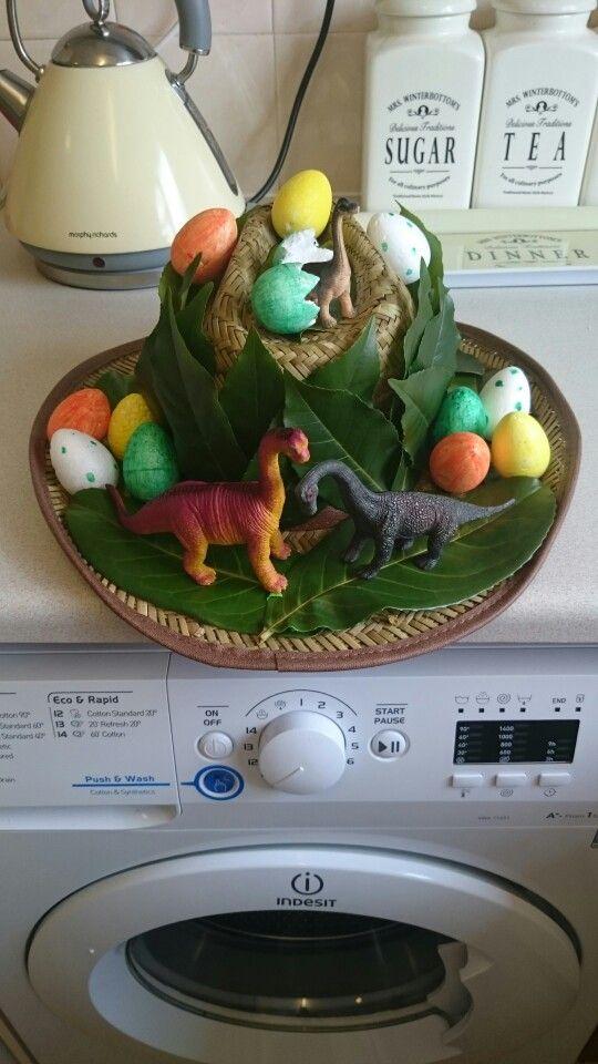 Dinosaur Easter Bonnet  2015