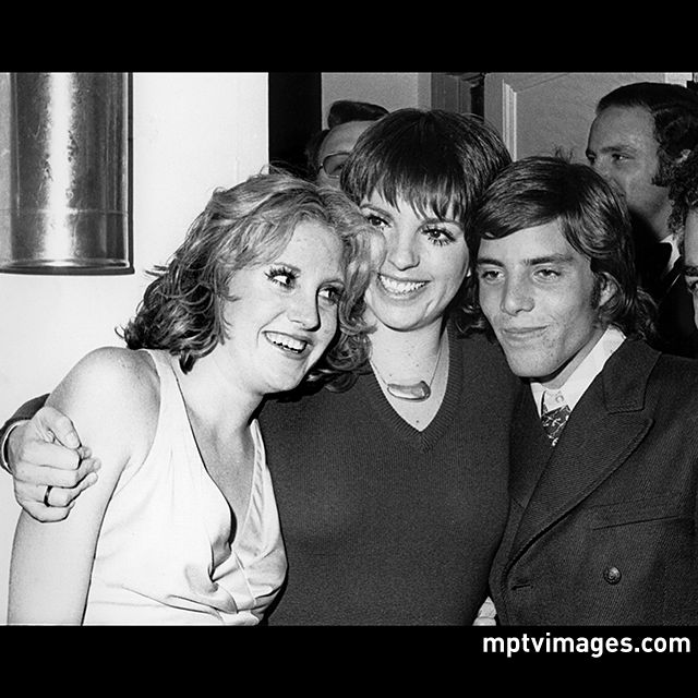 It's #NationalSiblingsDay! Shown here: Lorna Luft, Liza Minnelli, and Joey Luft. See celebrity family photos on mptvimages.com #LornaLuft #LizaMinnelli #JoeyLuft #JudyGarland #family #mptvimages