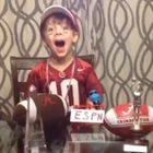 Congratulations to DMoney, the winner of AL.com's 15 Seconds of Fame video contest. As our grand prize winner, DMoney will receive two 2014 Alabama football season tickets. Brady, the star of the winning video, should be thrilled.