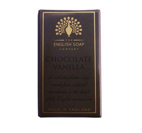 The English Soap Company Chocolate Vanilla BAR SOAP