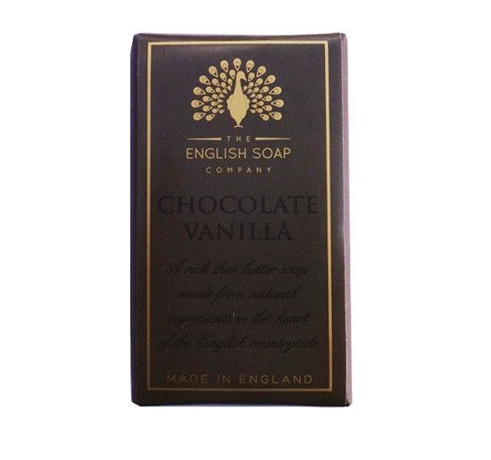 The English Soap Company Chocolate Vanilla BAR SOAP