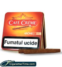 Order Cafe Creme Arome Cigarillos - $12.49 per carton! We deliver all over the USA!
