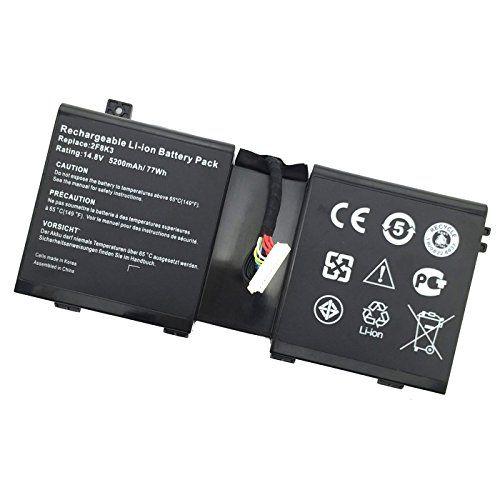 Novelty 14.8V 77Wh NEW Laptop Battery for Dell Alienware 17 18 18x M17X R5 M18X R3 series KJ2PX 0KJ2PX F8K3 02F8K3 G33TT 0G33TT--12 Months Warranty