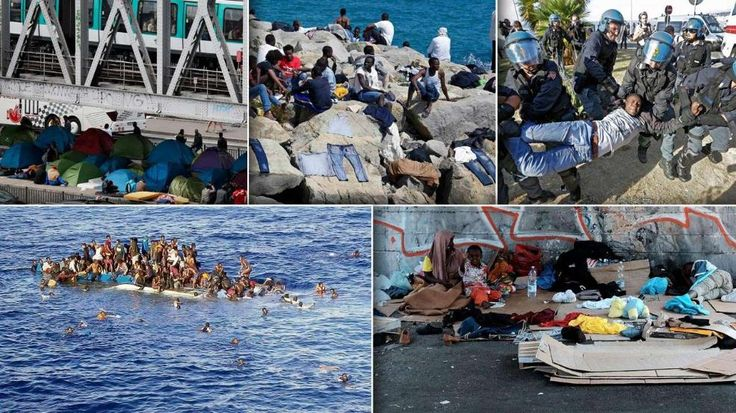 20.6.2015: Weltflüchtlingstag - Europas Flüchtlings-Drama: Die Fotos der Schande http://www.bild.de/politik/ausland/fluechtling/die-fotos-der-schande-41377354.bild.html Gauck: http://www.bild.de/politik/inland/gauck-joachim/haelt-rede-anlaesslich-des-weltfluechtlingstages-41432158.bild.html