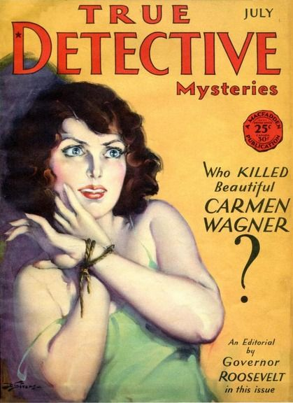1930s detective story with a sexy twist 6