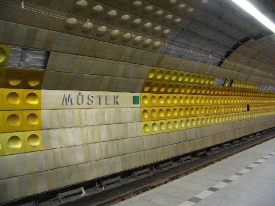 Prague metro is... - Prague