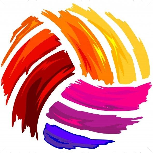 Painted Volleyball Shirt Art Volleyball Wallpaper Volleyball Drawing Volleyball Shirts